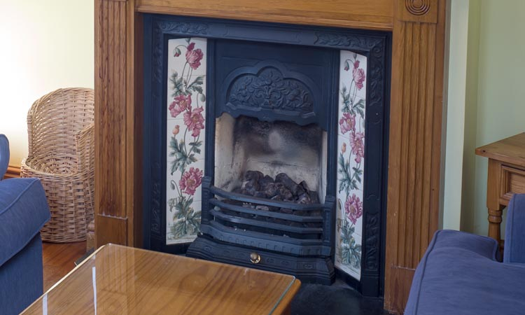 Fire Place of Cottage 42