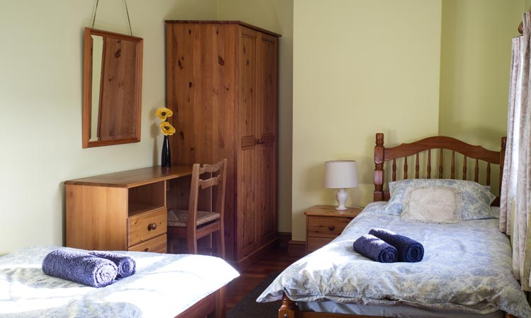 Twin Bedroom of Cottage 42